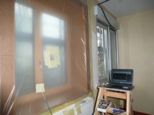 test etancheité sur chantier